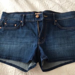 MOTHER jean shorts - size 28